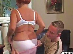 Older Big Tit Granny Fucked