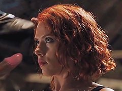 Scarlett Johansson Blowjob Scene The Avengers